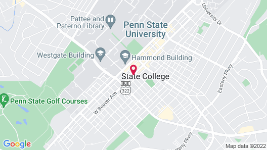 Hyatt Place State College Map