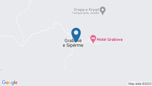 Hotel Grabova Map