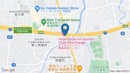 Hotel Route Inn Aomori Chuo Inter Map