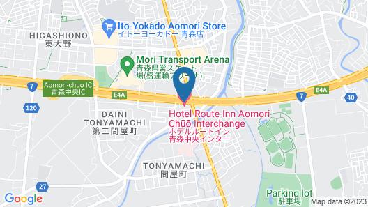 Hotel Route-Inn Aomori Chuo Inter Map