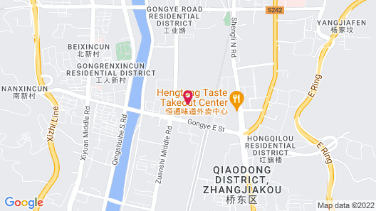 HUALUXE Hotels & Resorts Zhangjiakou - An IHG Hotel Map