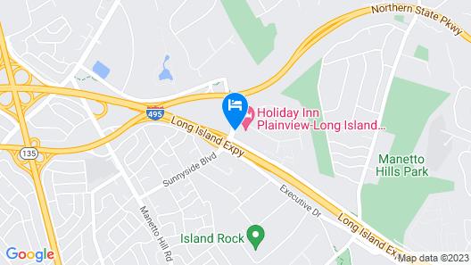 Holiday Inn Plainview, an IHG Hotel Map