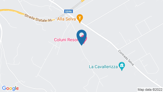 Coluni Sport Resort Map