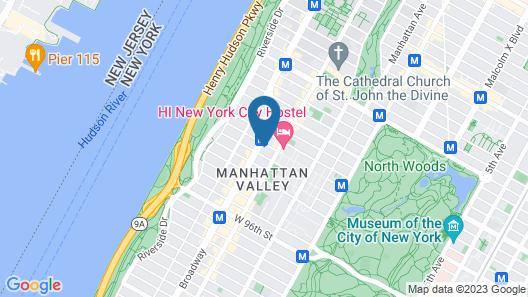 Marrakech New York Map