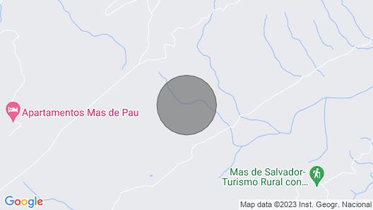 Torre Caballe at Aragón Map