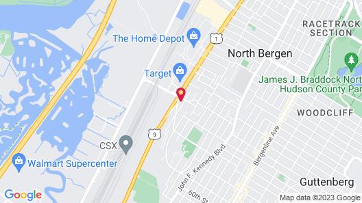 Fairfield Inn & Suites by Marriott North Bergen Map