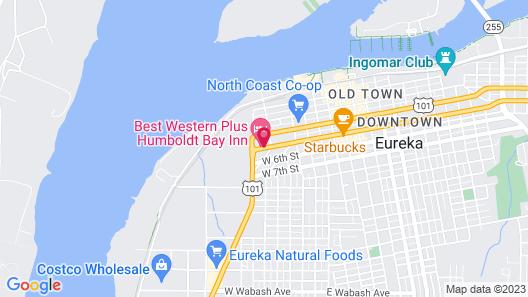 Best Western Plus Humboldt Bay Inn Map