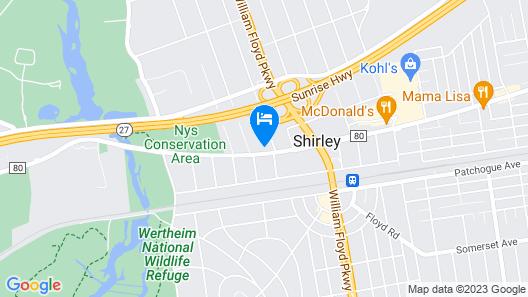 Shirley Motel Map