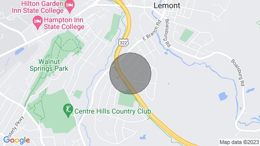 Fabulous Home 1.8 Miles to Penn State/beaver Stadium Map