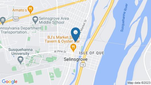 Selinsgrove Inn Map
