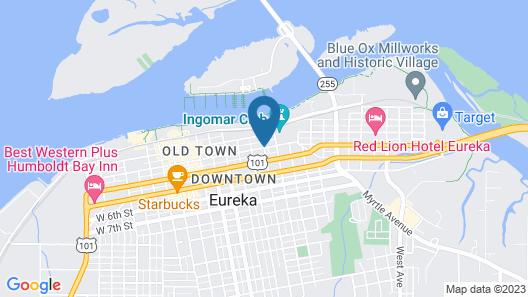 Carter House Inns Map