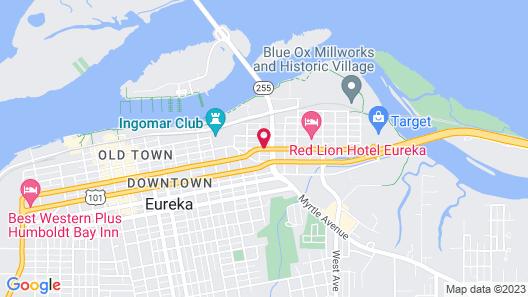 Laguna Inn Map