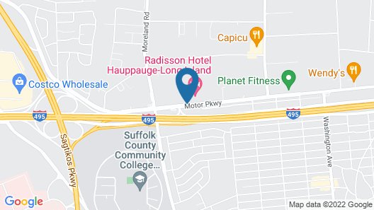 Radisson Hotel Hauppauge-Long Island Map