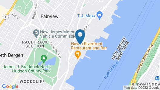 Homewood Suites by Hilton Edgewater Map
