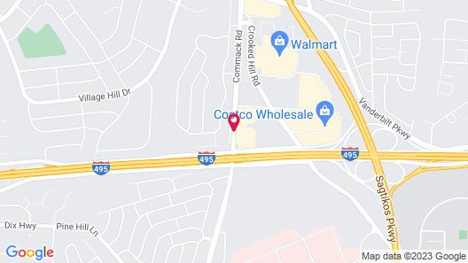 Hampton Inn Long Island / Commack Map
