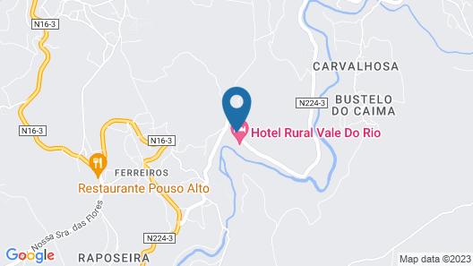 Hotel Rural Vale do Rio & Spa Map