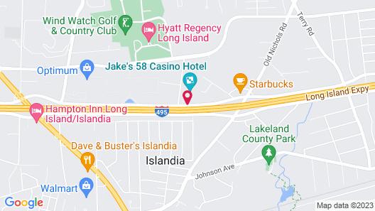 Jake's 58 Hotel & Casino Map
