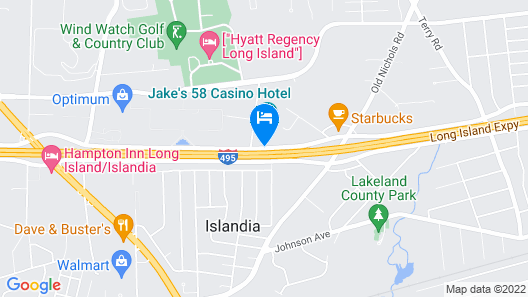 Jake's 58 Hotel & Casino Map