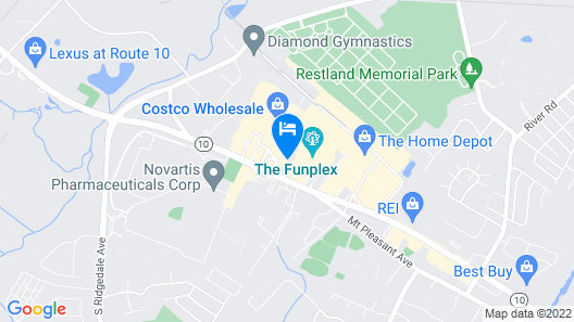 Home2 Suites East Hanover, NJ Map