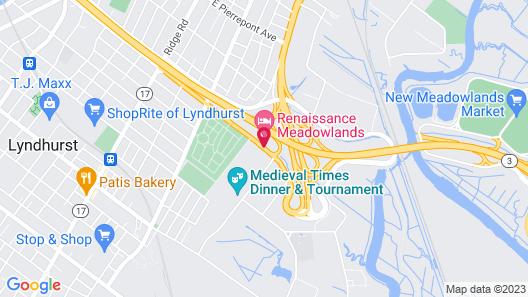 Renaissance Meadowlands Hotel Map
