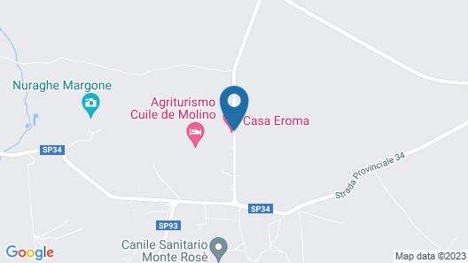 Agriturismo Quattro Mori Map