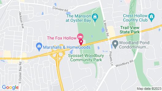 The Inn At Fox Hollow Hotel Map