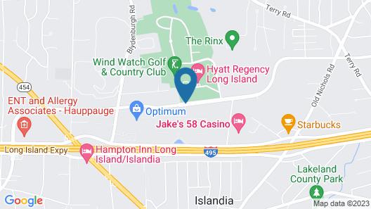 Hyatt Regency Long Island Map
