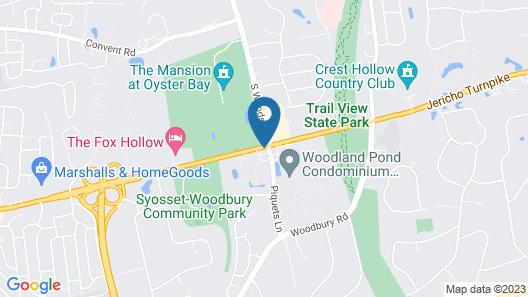 Best Western Woodbury Inn Map