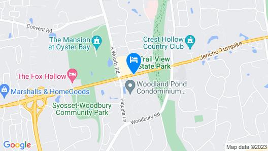 Days Inn by Wyndham Woodbury Long Island Map