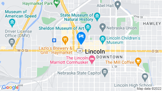 Embassy Suites Lincoln Map