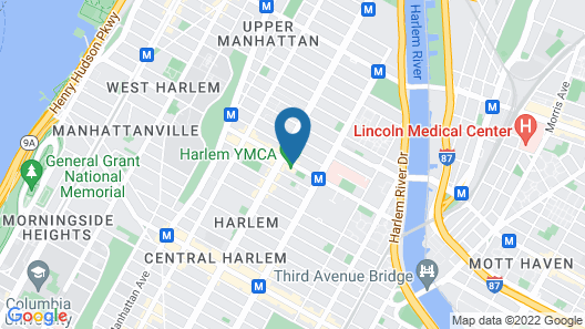 Harlem YMCA Map