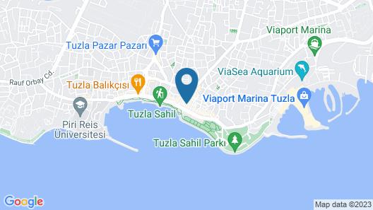 Blue Sea Hotel Map