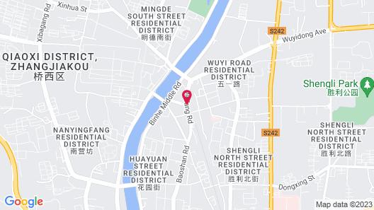 JIN Jiang INN Beizhan Map