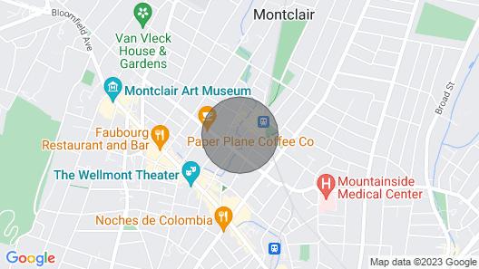 Huge Montclair Gem 4 BR Map