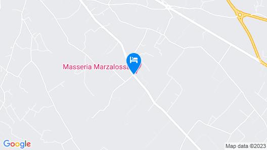Masseria Marzalossa Map