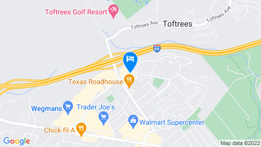 Springhill Suites by Marriott State College Map