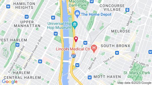 Holiday Inn Express-Bronx, an IHG Hotel Map