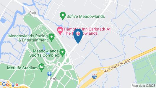 Econo Lodge Meadowlands Map