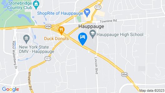 Residence Inn By Marriott Long Island Hauppauge Map