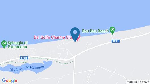 Club Del Golfo Map