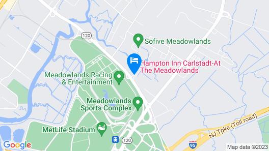 Hampton Inn Carlstadt Map