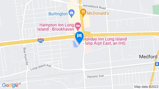 Holiday Inn Long Island-Islip Arpt East, an IHG Hotel Map
