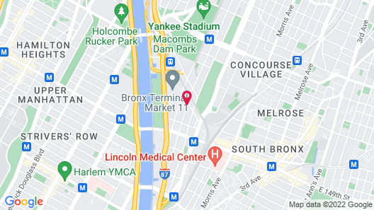 Ramada by Wyndham Bronx Terminal Map