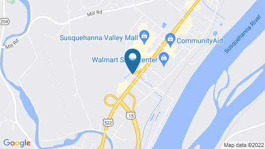 Fairfield Inn & Suites by Marriott Selinsgrove Map