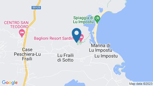 Baglioni Resort Sardinia - The Leading Hotels of the World Map