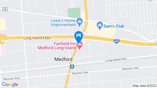 Comfort Inn Medford-Long Island Map