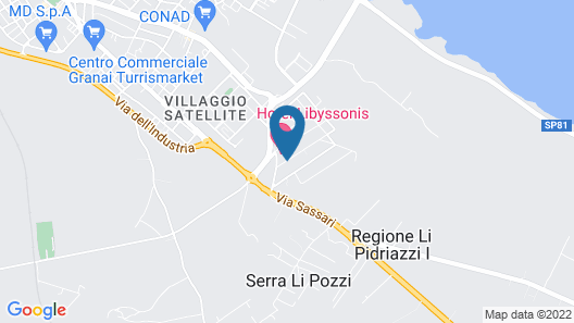 Hotel Libyssonis Map