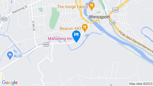 Mahoning Inn Map