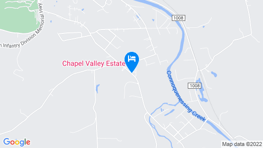 Chapel Valley Estate Bed & Breakfast Map