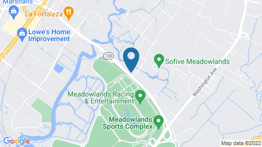 SpringHill Suites by Marriott East Rutherford Meadowlands/Carlstadt Map